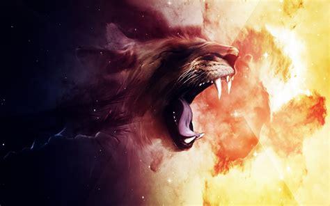 roaring lion wallpapers hd wallpapers id