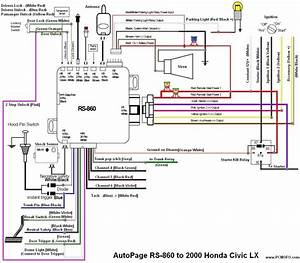 Keyless Entry Wiring Diagram