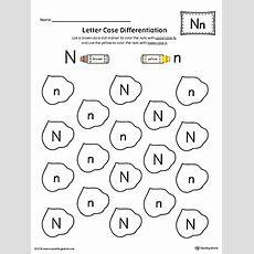 Say And Trace Letter N Beginning Sound Words Worksheet Myteachingstationcom