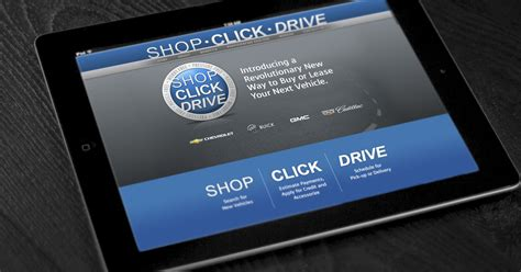 gm adds  cars   shop click drive tool