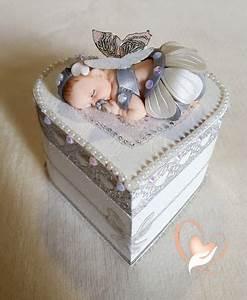 Petite Boite En Bois : 1123 best baby toppers images on pinterest fondant baby ~ Dailycaller-alerts.com Idées de Décoration