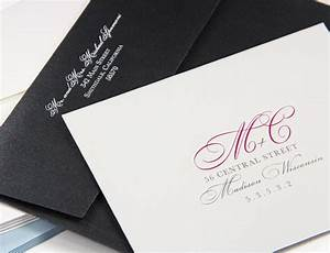 Wedding envelope printing envelope addressing service for Return address envelopes for wedding invitations