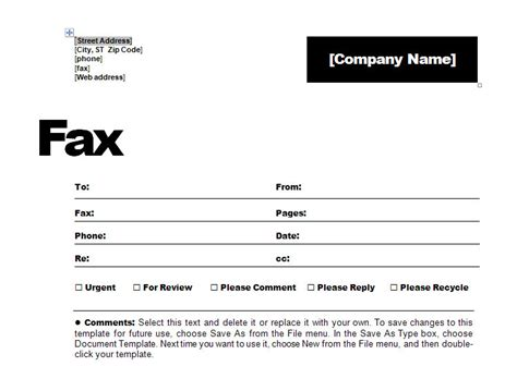 contemporary fax coversheet fax coversheet template