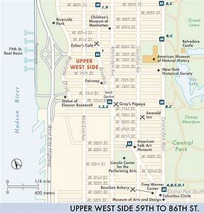 Map of Upper West Side | Upper West Side | Fodor's Travel ...