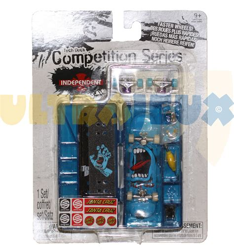Tech Deck Wood Competition Series Santa by Ultrajeux Performance Pack Competition Series Bleu