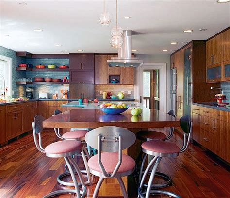 Stylish And Colorful Kitchen Design From Divine Kitchens