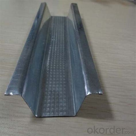 metal drywall steel gypsum profiles profile board stud galvanized ceiling partition track wall system light okorder weight partitions construction material