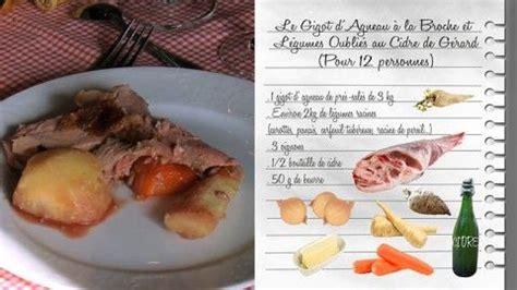 cuisiner les restes de gigot d agneau le gigot d agneau 224 la broche et l 233 gumes oubli 233 s au cidre