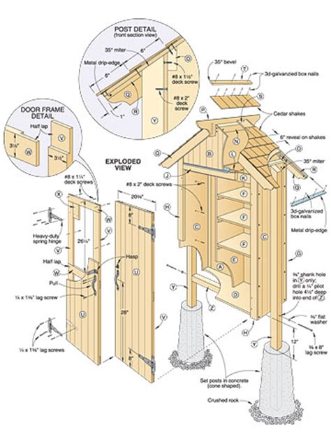 Garden Shed Plans Pdf shed plans mini garden shed plans by 8 x10 x12 x14 x16