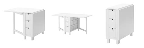 norden gateleg table white crate and barrel span gateleg dining table decor look alikes