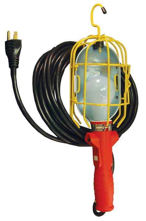 atd tools 80075 heavy duty incandescent utility light with