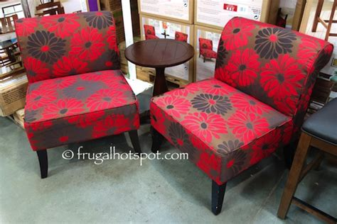 costco avenue six 3 pc chair table set 279 99 frugal