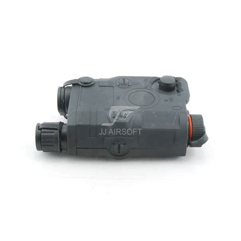 Peq 15 Battery Case With Red Laser Black Jj Airsoft
