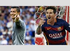 Real Madrid CR7 and Messi square up in Europe MARCAcom