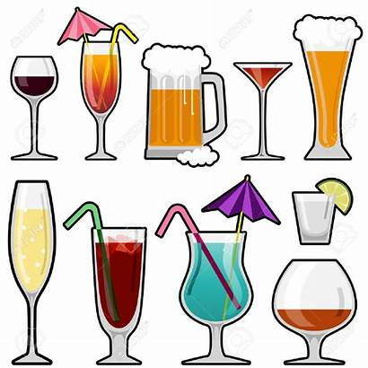 Alcohol Drink Glass Clipart Drinks Beverages Drinking
