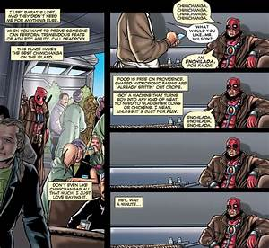What is it with Deadpool and chimichangas? - Science ...
