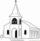 Coloring Church Mission Pages Coloringpages101 sketch template