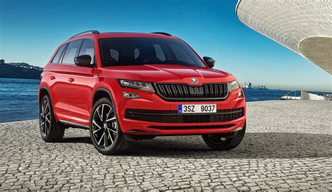 skoda kodiaq sportline revealed australian launch