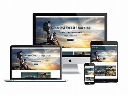 Wordpress Theme Travel Woocommerce Ws Tour Mockup