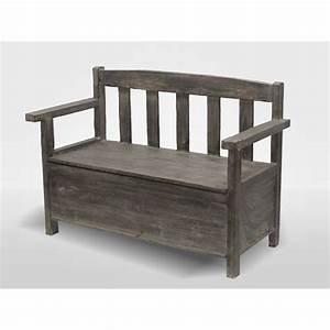 Banquette Coffre Exterieur : optimiser l espace avec un banc coffre mon lit coffre ~ Edinachiropracticcenter.com Idées de Décoration