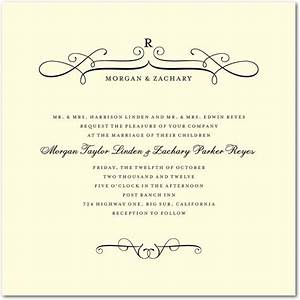 17 best images about gorge formal wedding invitations on With blank traditional wedding invitations