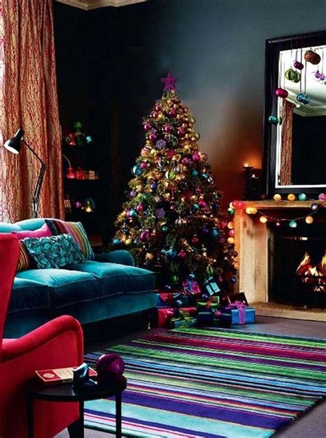 most beautiful christmas living room decorating ideas for