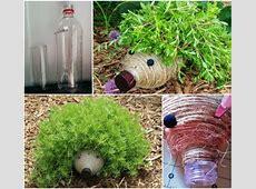 Adorable & Funny DIY Plastic Bottle Hedgehogs For Your Garden