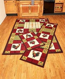 Rooster, Area, Rug, Accent, Runner, Farmhouse, Home, Decor, Country, Kitchen, Basics