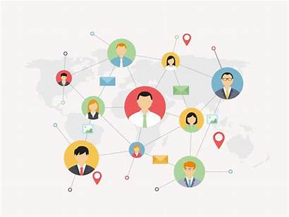 Network Social Connect Local Global Road Government