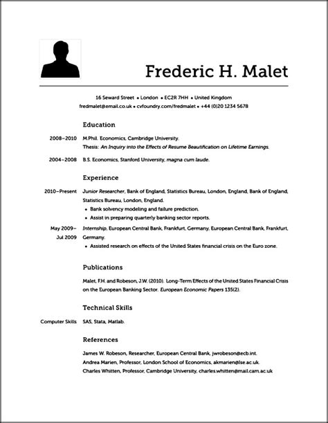 what resume looks like does modern resume look like free samples examples