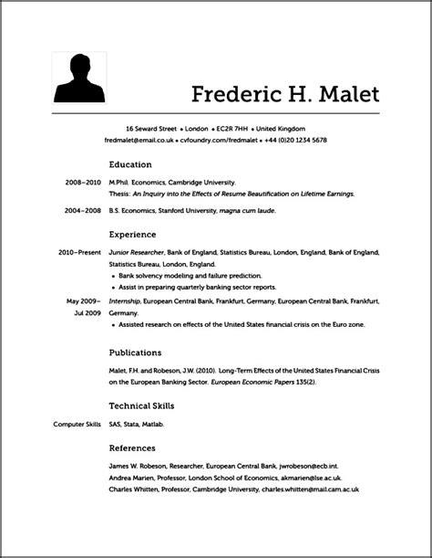 what resume looks like does modern resume look like free samples examples