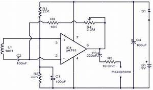 Emf Sensor Circuit Using Opamp