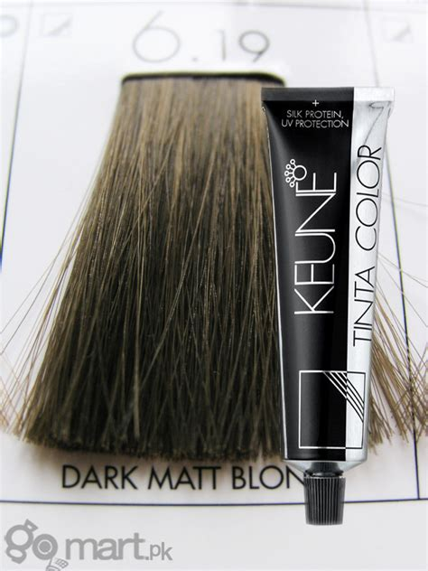 keune tinta color dark matt blonde  hair color dye