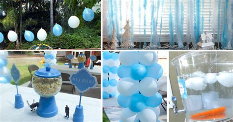 disney frozen party decoration ideas  sisters