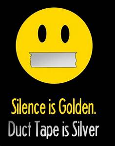 Funny Quotes Si... Silence Golden Quotes