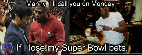 Pacquiao Mayweather Memes - boxing meme mayweather vs pacquiao negotiations mayweather s super bowl betting proboxing