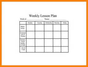 Financial Balance Sheet Template 7 Weekly Lesson Plan Template Word Cio Resumed