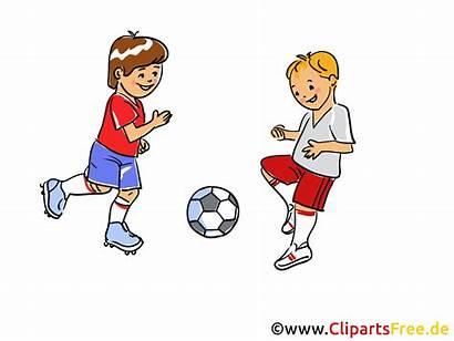 Spielen Clipart Fussball Lek Utklipp Kostenlos Clip