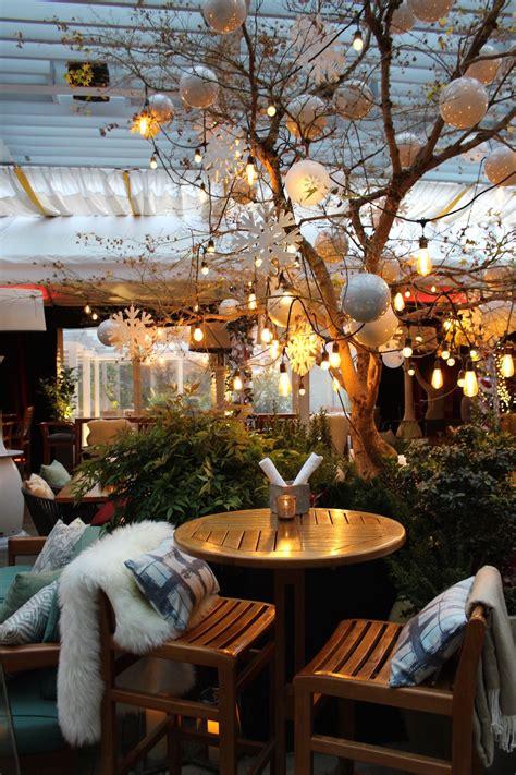 reflections cozy winter wonderland patio opens  week