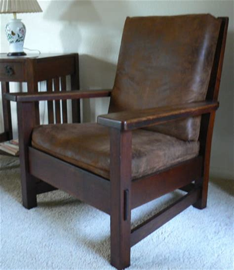 mission antiques stickley bros quaint arm chair