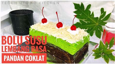 Hidangan penutup yang identik dengan warna hijau nah dari pada penasaran, berikut resep dan cara membuat dessert buko pandan yang dilansir brilio.net dari cookpad.com, selasa (22/5). RESEP BOLU SUSU LEMBANG RASA PANDAN COKLAT || TANPA OVEN ...