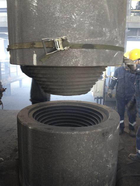 installation operation  carbon electrode video graphite carbon graphitecarbonru