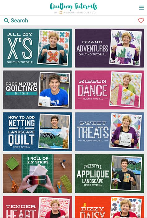 missouri quilt company app quilting tutorials by msqc android apps on play