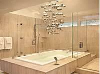 interesting modern bathroom fixtures Unique Contemporary Light Fixture over the Tub (6777)