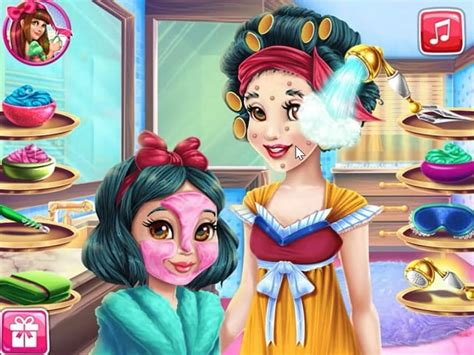 snow white mommy real makeover disney princess games