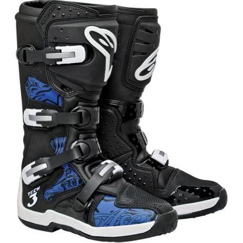 blue dirt bike boots alpinestars tech 3 men s motocross motorcycle boots