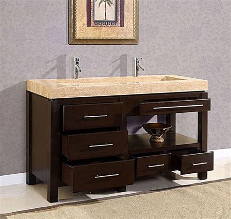 60 quot king modern trough sink bathroom vanity cabinet bath furniture vanity sink