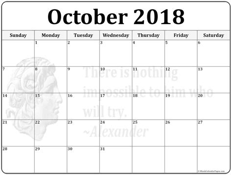 October 2018 Calendar  56+ Templates Of 2018 Printable. Resume With Picture Samples Template. Summary Of Expenses Format Template. Notice To Vacate Form Template. Questions And Answers For A Job Interview Template. Open Office Fax Cover Sheet Template. Retail Invoice Template. Pinnacle Template. Training Completion Certificate Templates