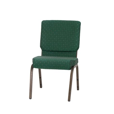 hercules series 18 5 w stacking church chair in green