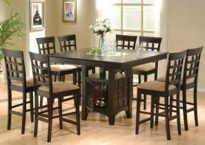 Counter Height Dining Room Sets 9 Dining Room Set Table Counter Height Lazy Susan Ebay